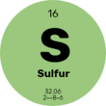 Sulphur(0.11%)Helps transform proteins and distribute chlorophyll, increases root growth and aids in transpiration and metabolic processes.
