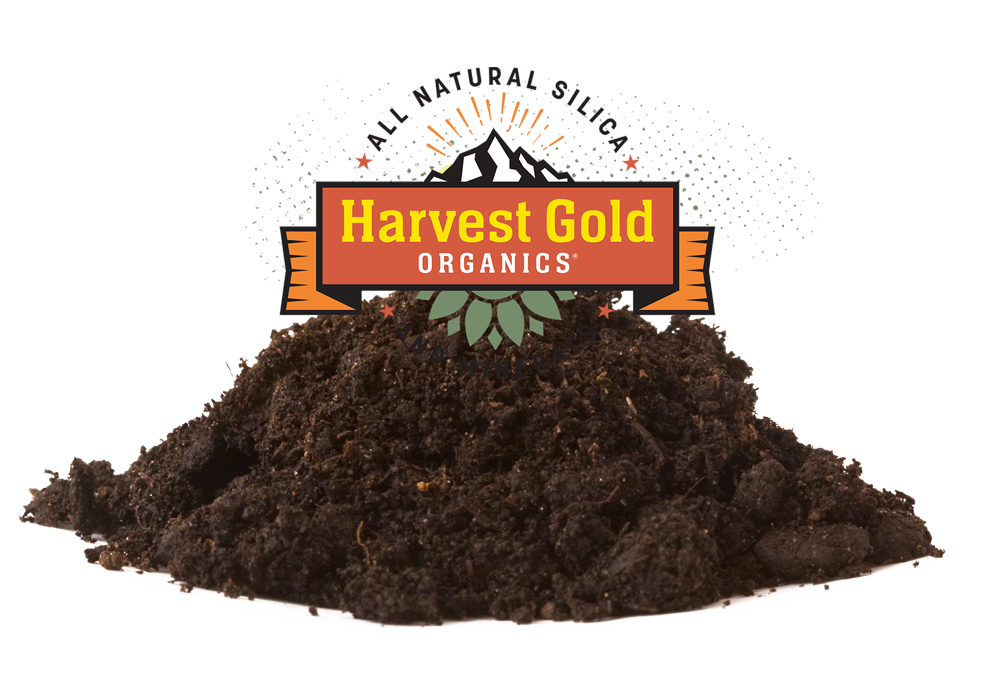 1 Harvest Gold Organics®is a mineral-rich soil additive that improves soil structure and increases resilience to pests and temperature changes.