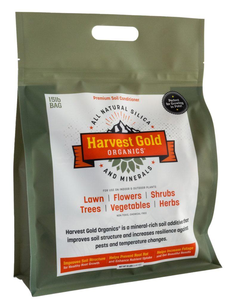 Harvest Gold Organics soil additive